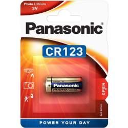 Pile CR123 Panasonic Lithium 3V