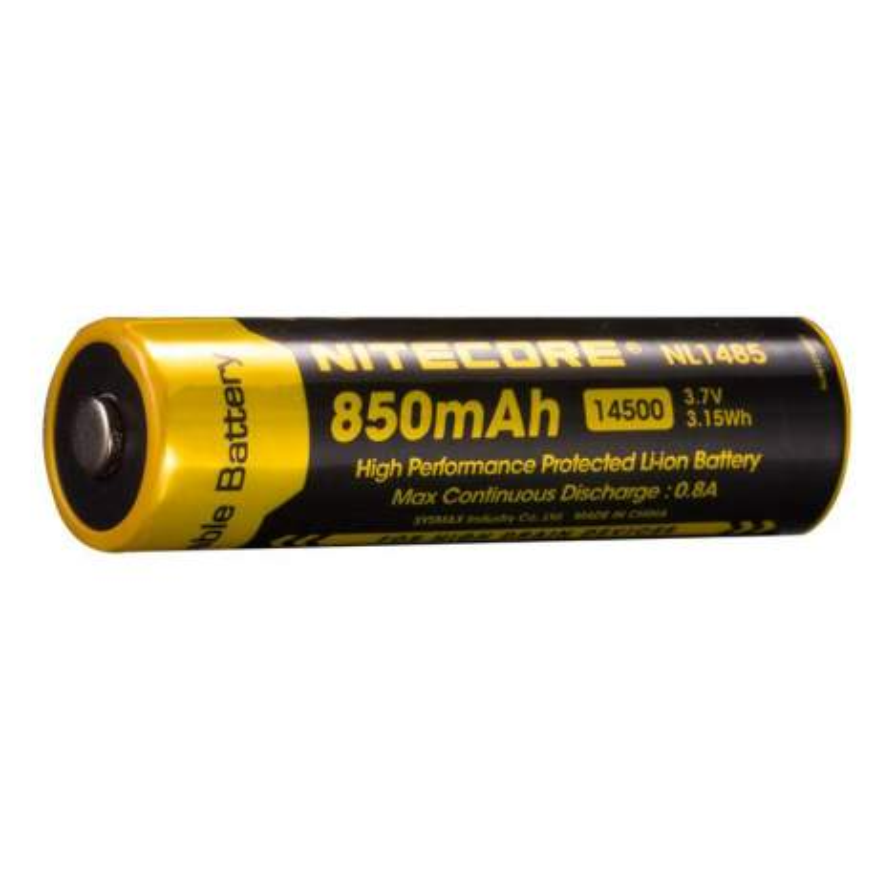 Pile Rechargeable 14500 NiteCore NL1485 3,7V 850mAh