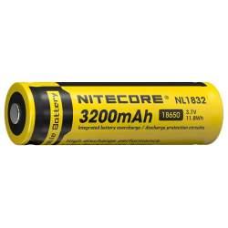 Pile Rechargeable 18650 NiteCore NL1832 3,7V 3200mAh