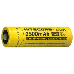 Pile Rechargeable 18650 NiteCore NL1835 3,6V 3500mAh
