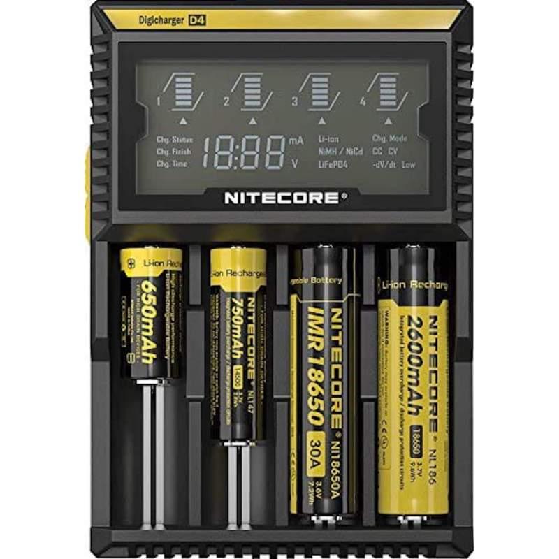 Chargeur de Piles NiteCore D4 EU DigiCharger