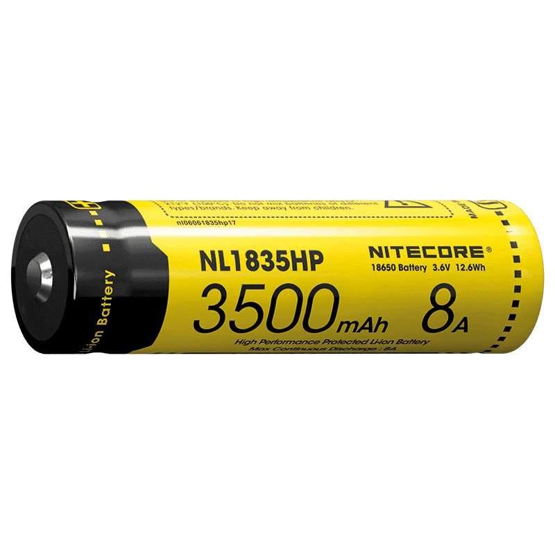 Pile Rechargeable 18650 NiteCore NL1835HP 3,6V 3500mAh 8A