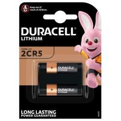 Pile 2CR5 / 245 Duracell Lithium 6V