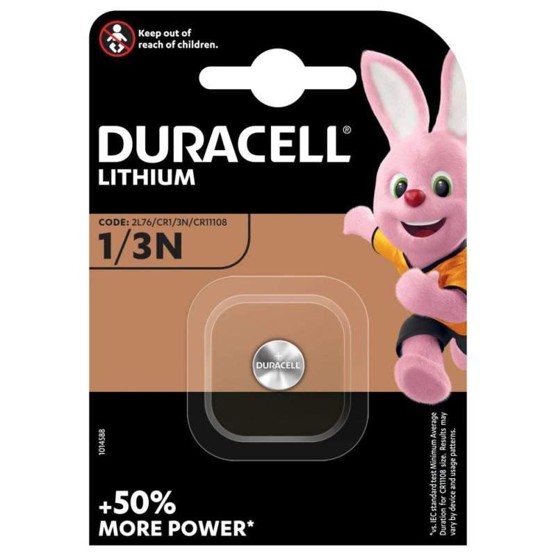 Pile 1/3N / 2L76 / CR1/3N / CR11108 / DL1/3N Duracell Lithium 3V