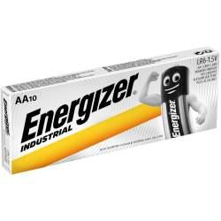 10 Piles AA / LR6 Energizer Industrial