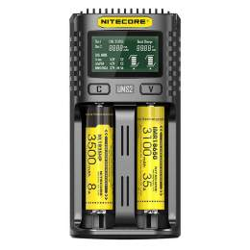 Chargeur de Piles NiteCore UMS2 USB Fast Charger
