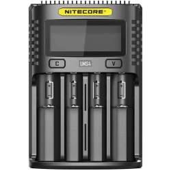 Chargeur de Piles NiteCore UMS4 USB Fast Charger