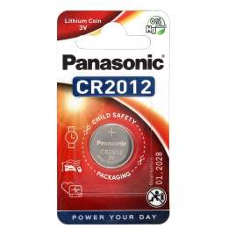 Pile CR2012 Panasonic Bouton Lithium 3V