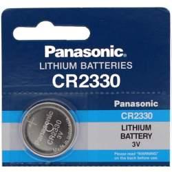 Pile CR2330 Panasonic Bouton Lithium 3V