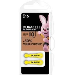 Duracell Auditive Easy Tab 10 / PR70 par 6