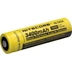 Pile Rechargeable 18650 NiteCore NL1834 3,7V 3400mAh