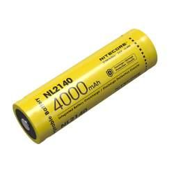 Pile Rechargeable 21700 NiteCore NL2140 3,6V 4000mAh