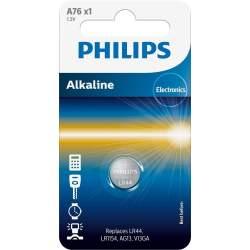 Pile A76 / LR44 / LR1154 Philips Alcaline 1,5V