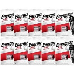 20 Piles A23 / V23GA / MN21 Energizer Alcaline 12V