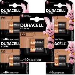 Duracell Lithium 3V 123 par 10