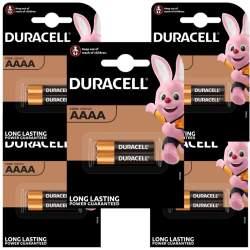 10 Piles AAAA / LR8D425 Duracell Alcaline 1,5V