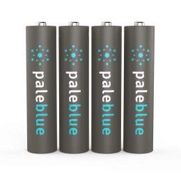 4 Piles Rechargeables USB AAA / HR03 750mAh PaleBlue Lithium Ion 1.5V