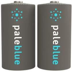 2 Piles Rechargeables USB C / HR14 2800mAh PaleBlue Lithium Ion 1.5V