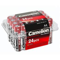 24 Piles Alcalines AA / LR6 Camelion Alcaline Plus
