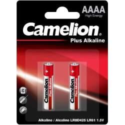 2 Piles AAAA / LR8D425 / LR61 Camelion Alcaline 1,5V