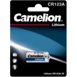 Pile CR123A / CR17335 / 123 Camelion Lithium 3V