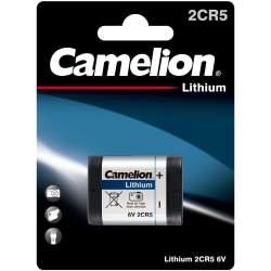 Pile 2CR5 / 245 / PRL6401 Camelion Lithium 6V