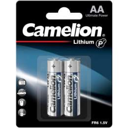 2 Piles Lithium AA / FR6 Camelion Lithium 1.5V