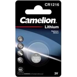 Pile CR1216 / 5034LC Camelion Bouton Lithium 3V