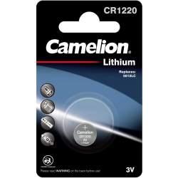 Pile CR1220 / 5012LC Camelion Bouton Lithium 3V