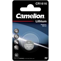 Pile CR1616 / 5021LC Camelion Bouton Lithium 3V