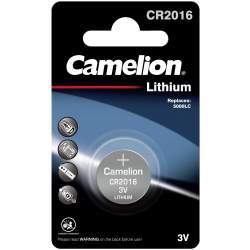 Pile CR2016 / 5000LC Camelion Bouton Lithium 3V