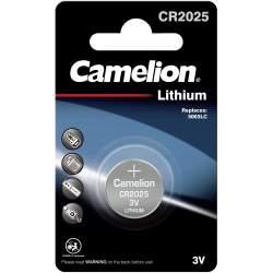 Pile CR2025 / 5003LC Camelion Bouton Lithium 3V