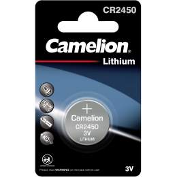 Pile CR2450 / 5029LC Camelion Bouton Lithium 3V