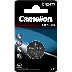 Pile CR2477 Camelion Bouton Lithium 3V